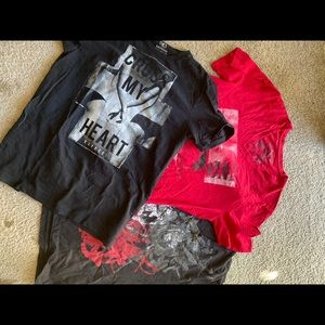"""3pc Express Graphic Tees """"Party Boy Pack"""""""